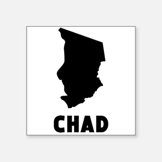 Chad Silhouette Sticker