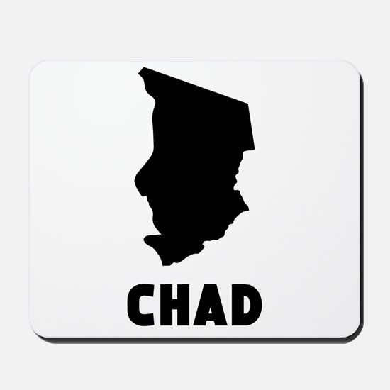 Chad Silhouette Mousepad