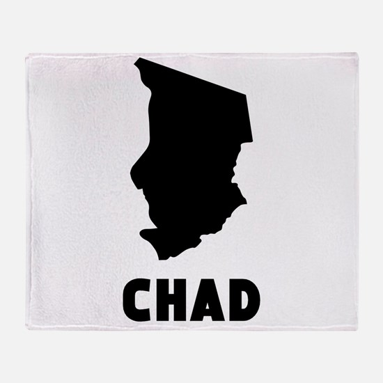 Chad Silhouette Throw Blanket