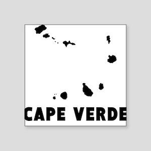 Cape Verde Silhouette Sticker
