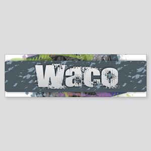 Waco Design Bumper Sticker