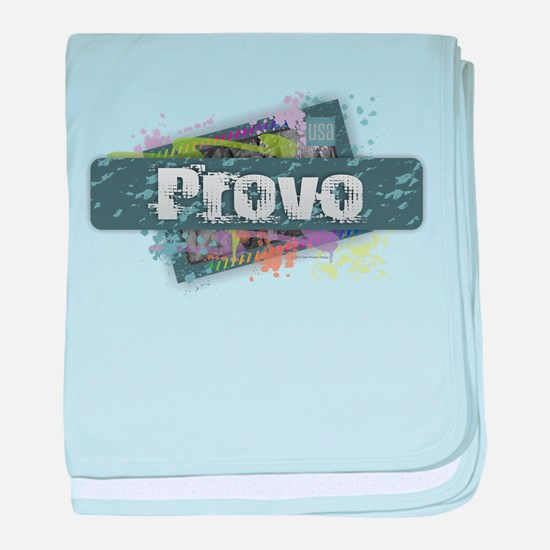 Provo Design baby blanket