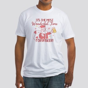 Christmas Most Wonderful Time for a Beer S T-Shirt
