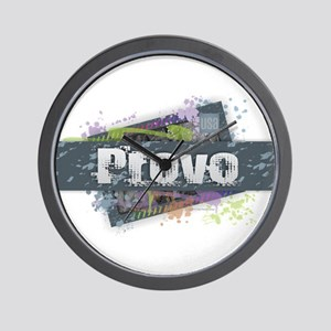 Provo Design Wall Clock