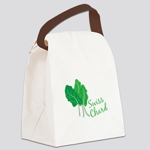 Swiss Chard Greens Canvas Lunch Bag