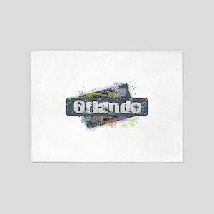 Orlando Design 5'x7'Area Rug