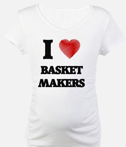 I love Basket Makers (Heart made Shirt