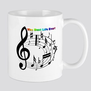 Musical Notes Mugs Small