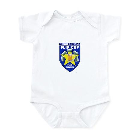 North Carolina Flip Cup State Infant Bodysuit