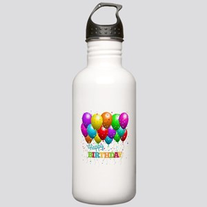 Trendy Happy Birthday Stainless Water Bottle 1.0L