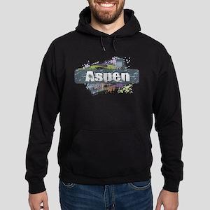 Aspen Design Hoodie (dark)