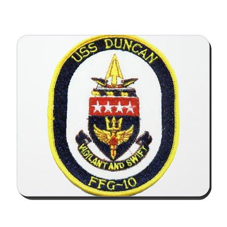 USS DUNCAN Mousepad