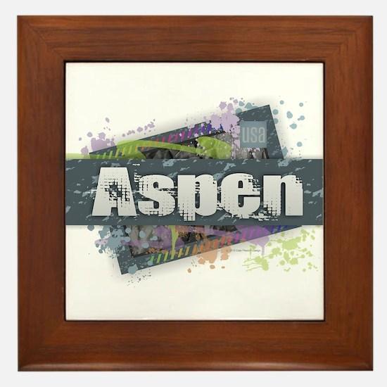 Aspen Design Framed Tile
