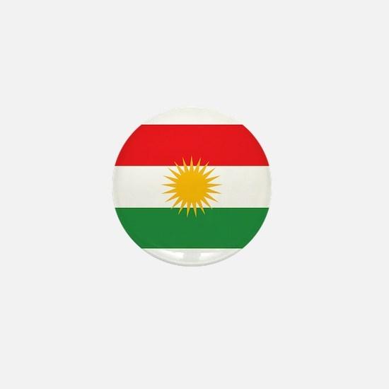 Flag of Kurdistan (Alay Kurdistan, Ala Mini Button