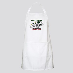 Two Turtle Doves BBQ Apron
