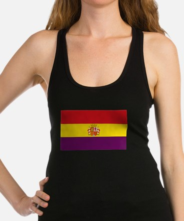 Flag of the Second Spanish Repu Racerback Tank Top
