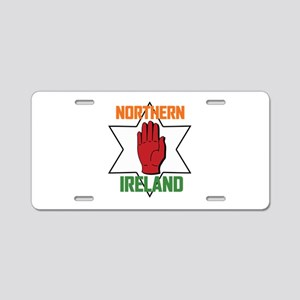 Northern Ireland Aluminum License Plate
