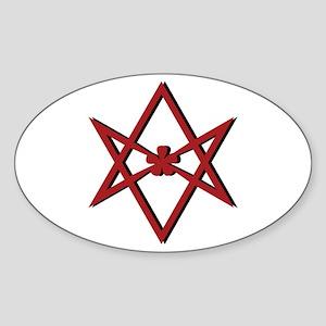 Thelema Symbol Sticker