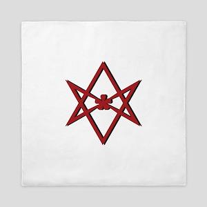 Thelema Symbol Queen Duvet