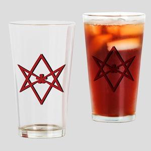 Thelema Symbol Drinking Glass