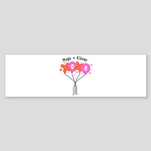 Hugs & Kisses Bumper Sticker