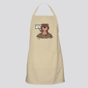 Groundhog Day Apron
