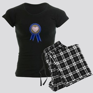 Love Blue Ribbon Pajamas