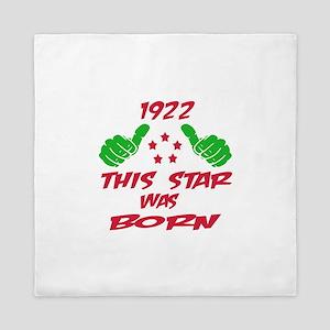 1922 This star was born Queen Duvet