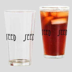 Seed Word Mug Drinking Glass