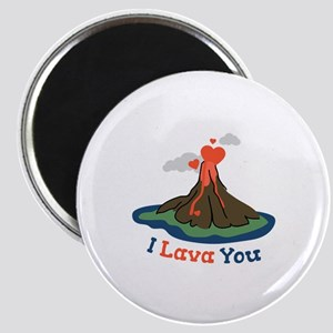 I Lava You Magnets