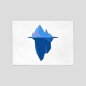Love Iceberg 5'x7'Area Rug
