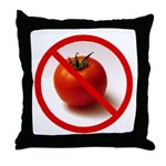 Make Tomatoes History Throw Pillow