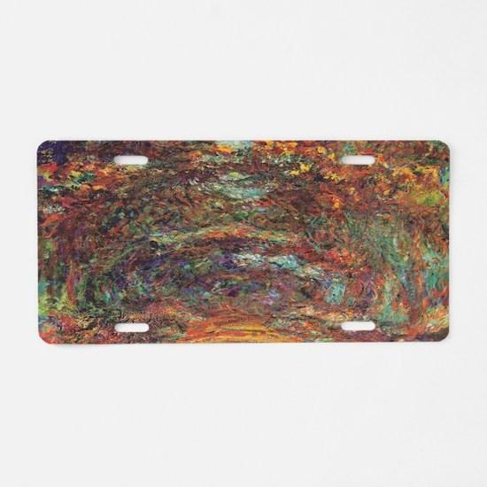 Unique Impressionist Aluminum License Plate