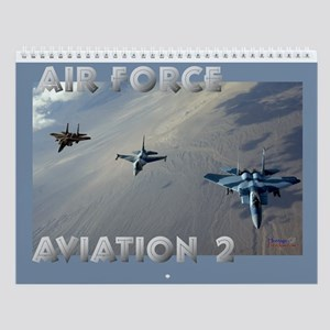 Air Force Aviation II Wall Calendar