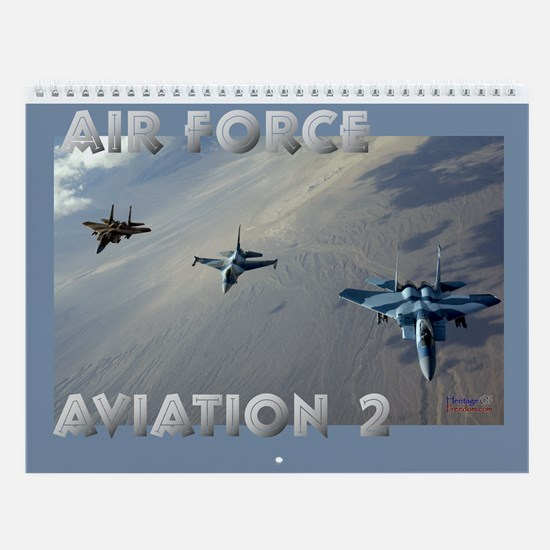 Air Force Aviation II Wall Calendar