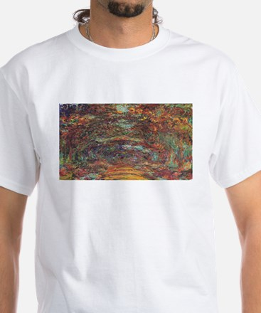 Claude Monet's The Rose Walk, Giverny, 192 T-Shirt