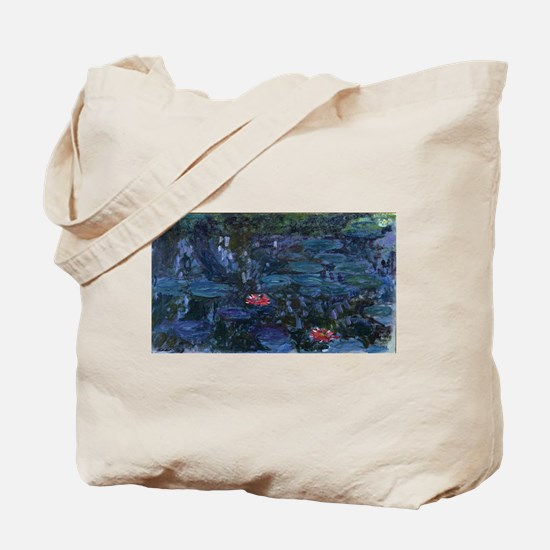 Claude Monet's Nympheas reflets de saule Tote Bag