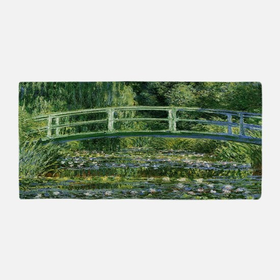 Cool Claude monet Beach Towel