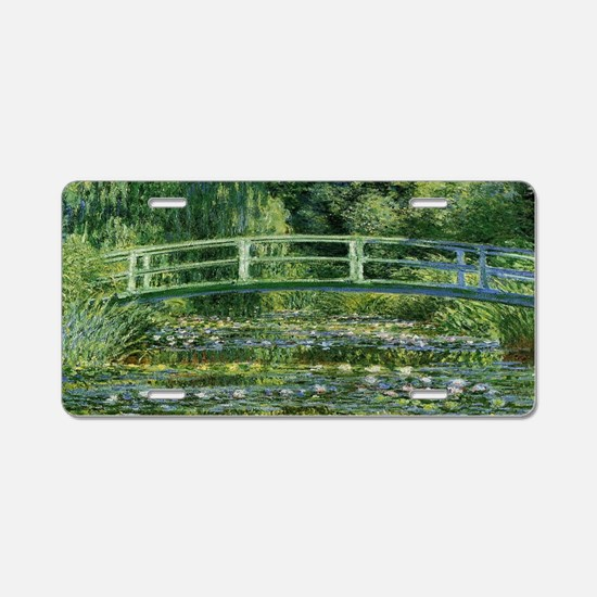 Funny Water lilies Aluminum License Plate