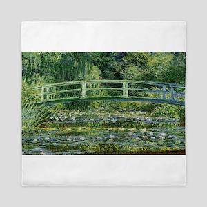 Claude Monet's Water Lilies and Japane Queen Duvet