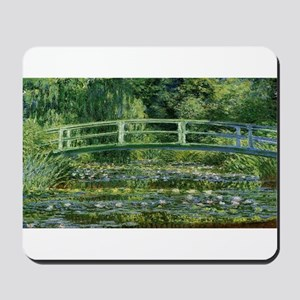 Claude Monet's Water Lilies and Japanese Mousepad