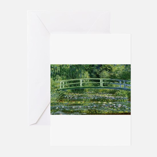 Claude Monet's Water Lilies and Jap Greeting Cards