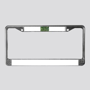 Claude Monet's Water Lilies an License Plate Frame