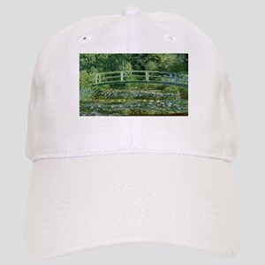Claude Monet's Water Lilies and Japanese Bridg Cap