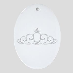 Princess Tiara Oval Ornament