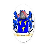 Oxley Oval Car Magnet