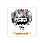 Oxhenham Square Sticker 3