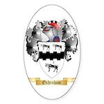 Oxhenham Sticker (Oval 50 pk)