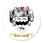 Oxenham Round Car Magnet