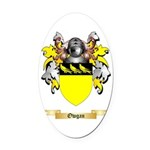 Owgan Oval Car Magnet